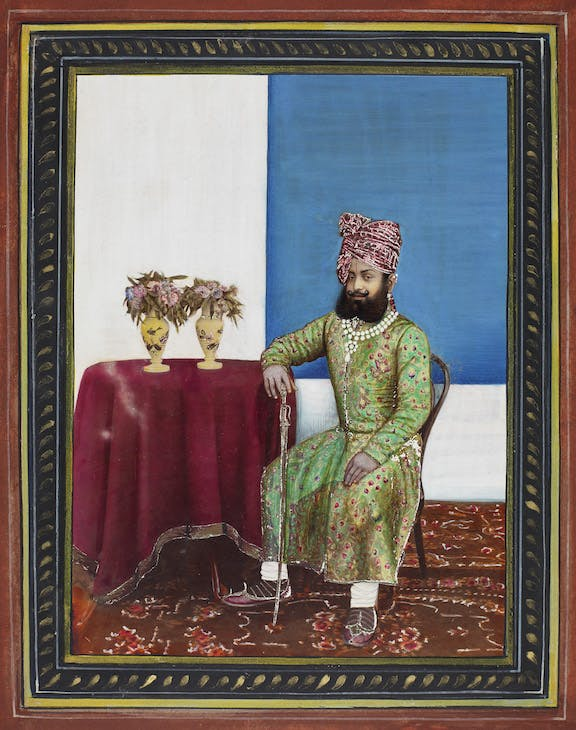 Maharaja Venkat Raman Singh of Rewa (1876–1918) (1899), court photographer.
