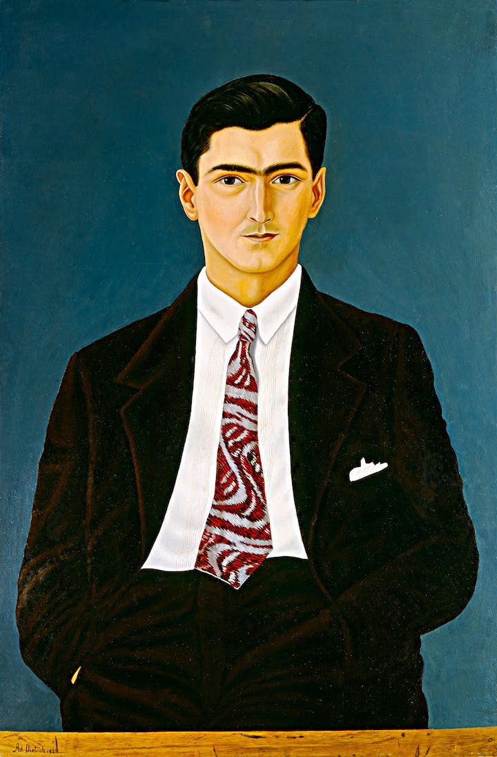 Portrait of the artist's nephew (1929), Adolf Dietrich. Courtesy Kunsthaus Zürich, © 2017 ProLitteris, Zurich