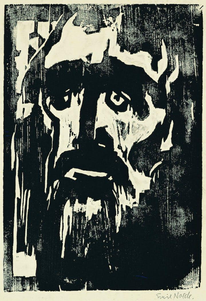 Prophet (1912), Emil Nolde. © Nolde Stiftung Seebüll