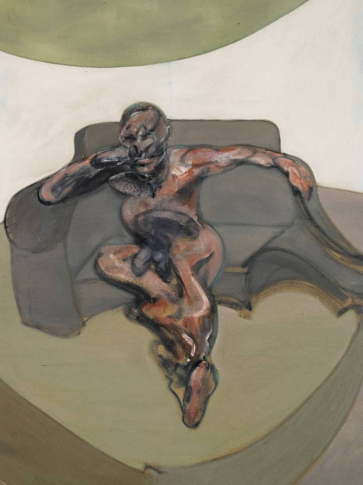 Portrait (1962), Francis Bacon. © The Estate of Francis Bacon. All rights reserved. DACS, London