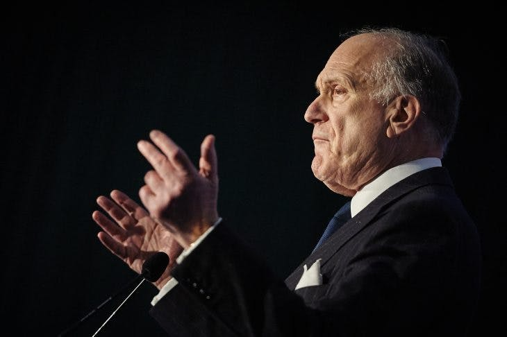 Ronald Lauder at the Kunsthaus Zurich in 2016, MICHAEL BUHOLZER/AFP/Getty Images