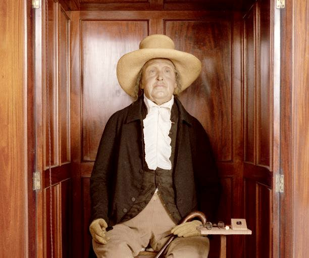 Jeremy Bentham at University College London.
