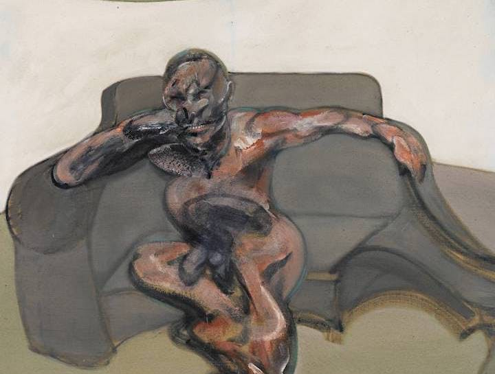 Portrait (detail; 1962), Francis Bacon. © The Estate of Francis Bacon. All rights reserved. DACS, London