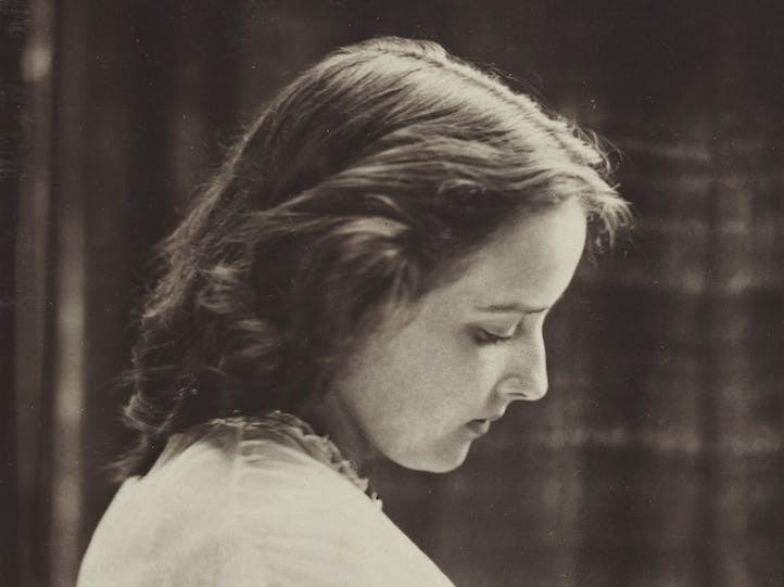 Unidentified young woman (detail; 1860–66), Oscar Rejlander. © National Portrait Gallery, London