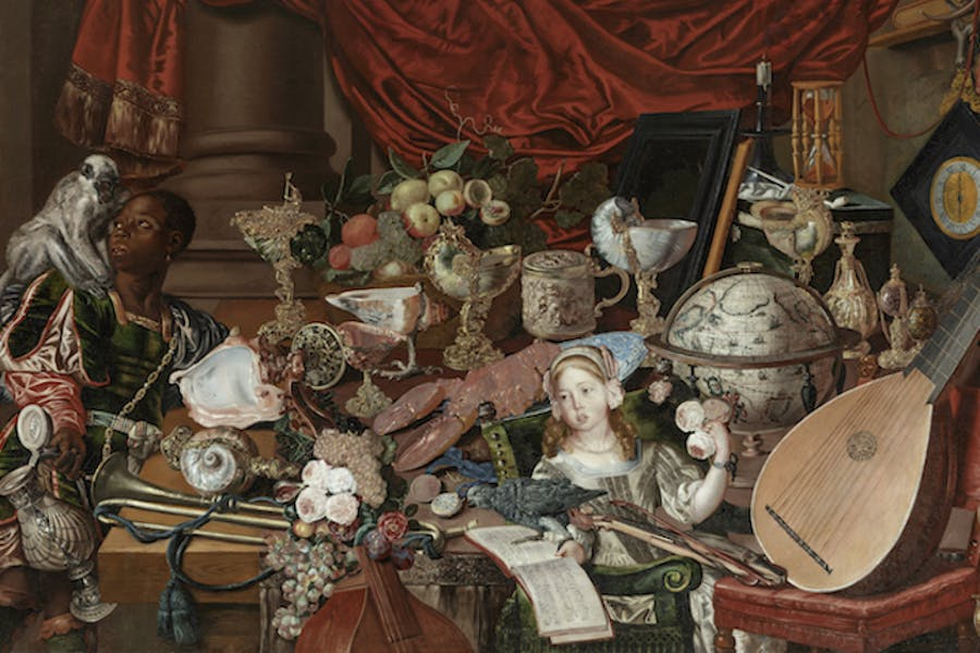 The Paston Treasure (detail; ca. 1663), artist unknown (Dutch school). Courtesy of Norfolk Museums Service
