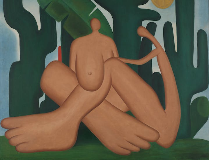 Anthropophagy (Antropofagia) (detail; 1929), Tarsila do Amaral. © Tarsila do Amaral Licenciamentos