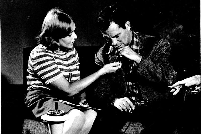 Fernanda Pivano and Jack Kerouac per Segnalibro, Milano (1966), Ettore Sottsass.