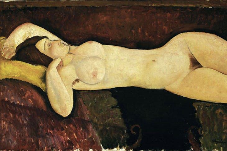 Reclining Nude (1919), Amedeo Modigliani. Museum of Modern Art, New York