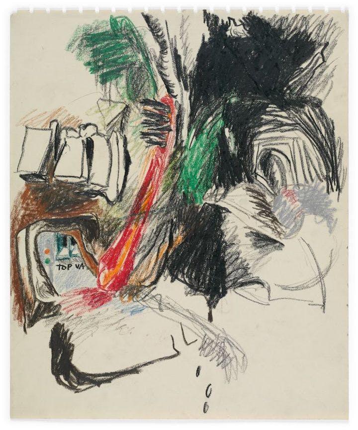 No title (c. 1961), Lee Lozano. © The Estate of Lee Lozano. Courtesy Hauser & Wirth