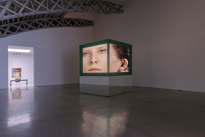 Imagination, dead imagine (video installation; 1991), Judith Barry. Courtesy the artist and Mary Boone Gallery, New York. Photo by Adam Reich. © Judith Barry