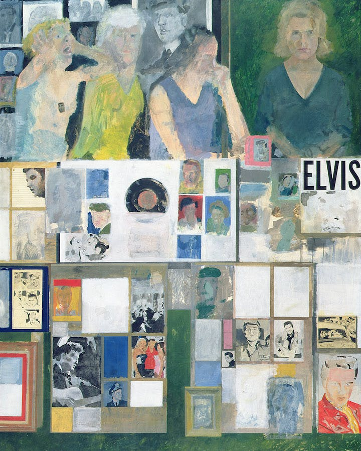 Girls with their Hero (1959-62), Peter Blake. © Peter Blake / DACS 2018