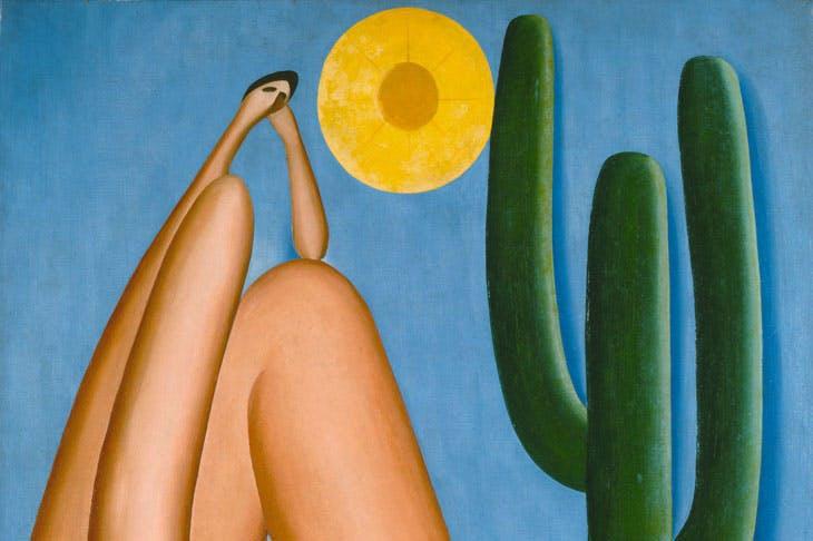 Abaporu (detail; 1928), Tarsila do Amaral. Collection MALBA, Museo de Arte Latinoamericano de Buenos Aires.
