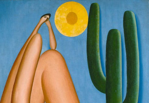 Abaporu (detail; 1928), Tarsila do Amaral. Collection MALBA, Museo de Arte Latinoamericano de Buenos Aires.