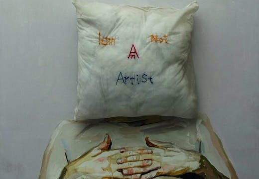 I am Not An Artist, (2016), Thaer Maarouf, courtesy the artist