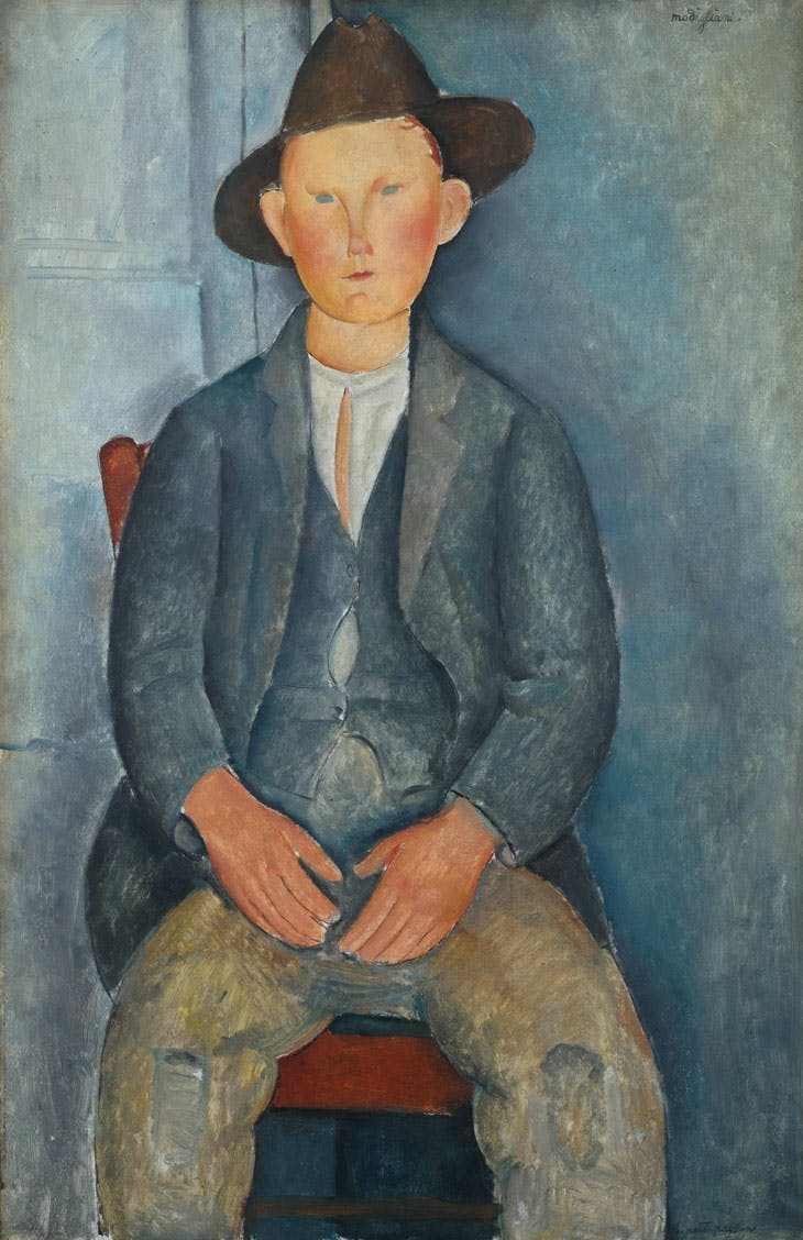The Little Peasant (c. 1919), Amedeo Modigliani. Tate, London