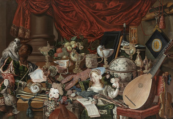 The Paston Treasure (ca. 1663), artist unknown (Dutch school). Courtesy of Norfolk Museums Service