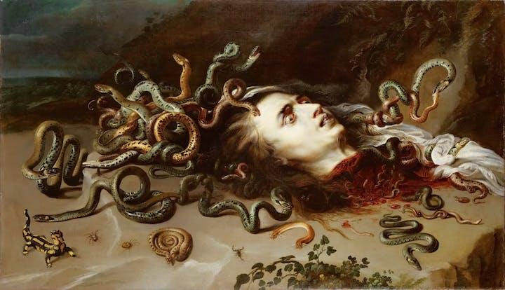 Head of Medusa (1617-18), Peter Paul Rubens. © KHM-Museumsverband