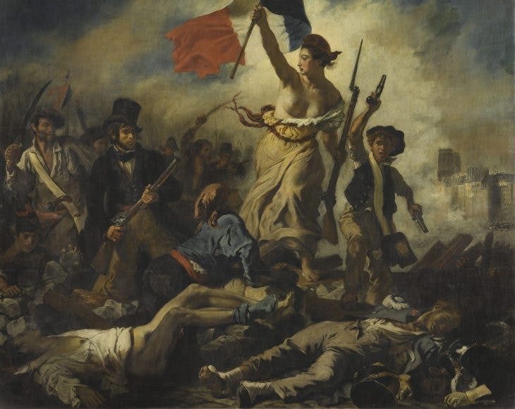 Liberty Leading the People, Eugène Delacroix