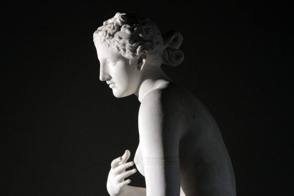 Aphrodite of Menophantos, Praxiteles, (4th century BC), Palazzo Massimo alle Terme, Rome, Photo: © Nutopia