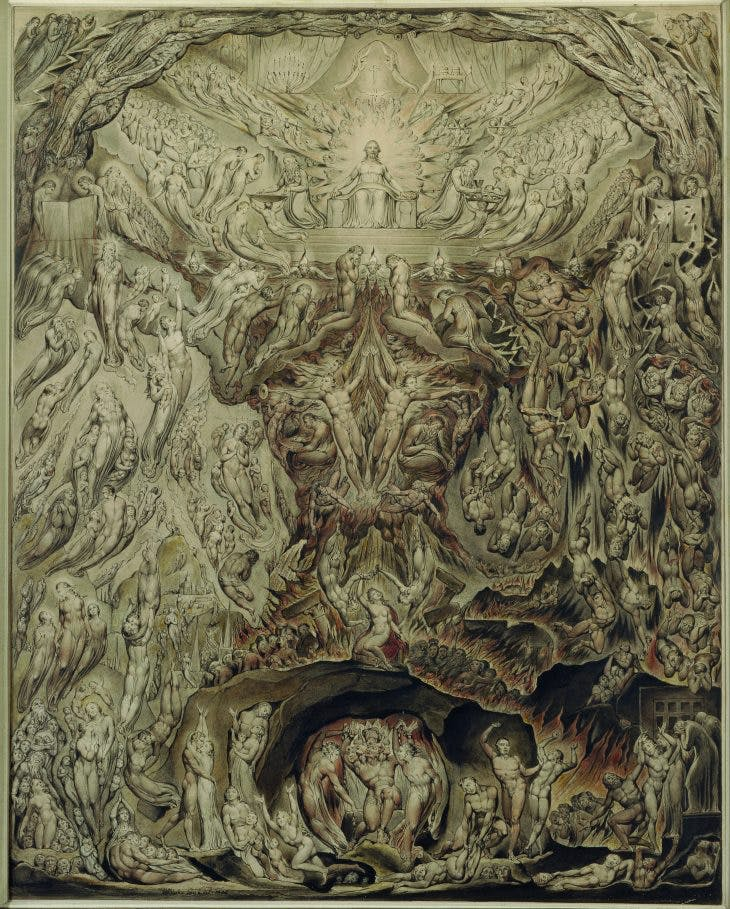 A Vision of The Last Judgement, William Blake