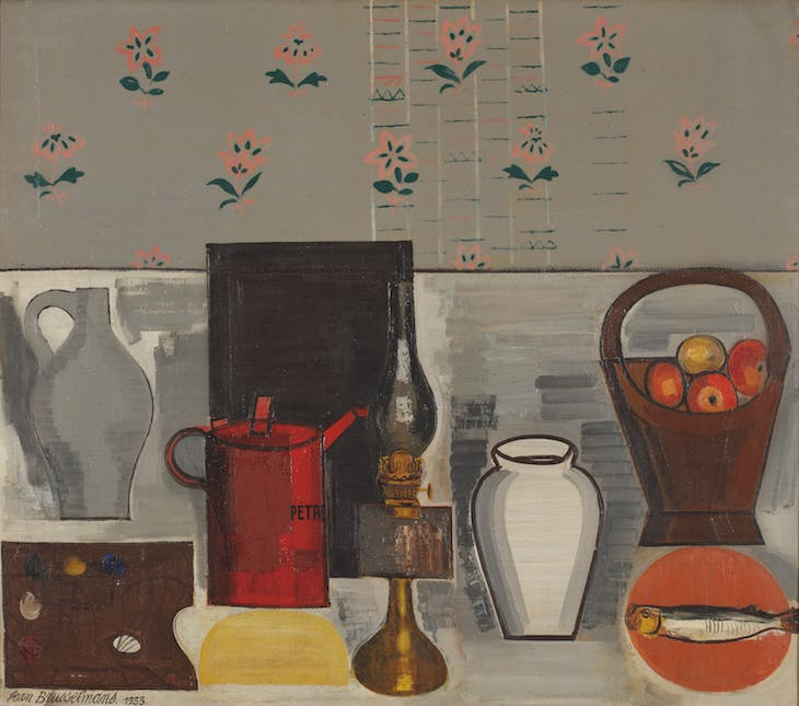 Still Life with Red Jug (1933), Jean Brusselmans.