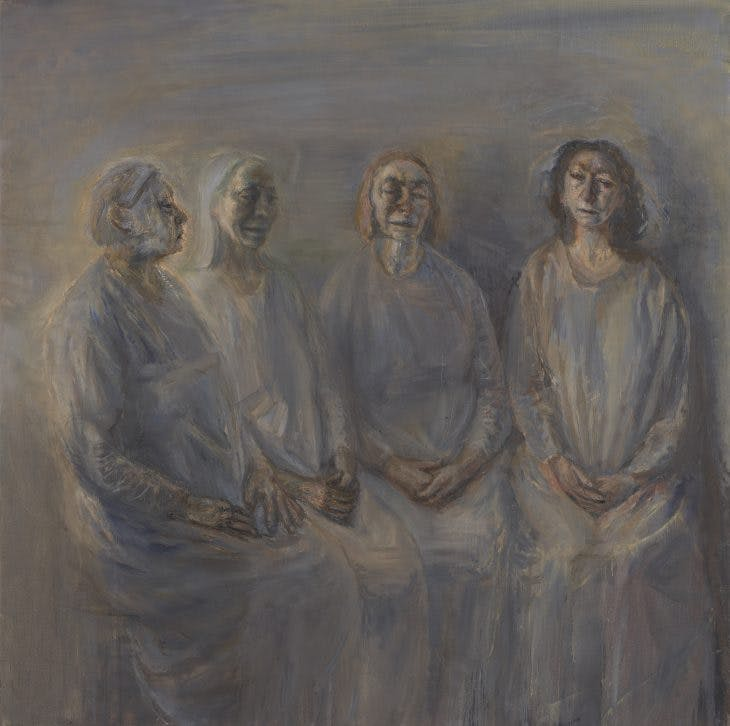 My Sisters in Mourning, Celia Paul