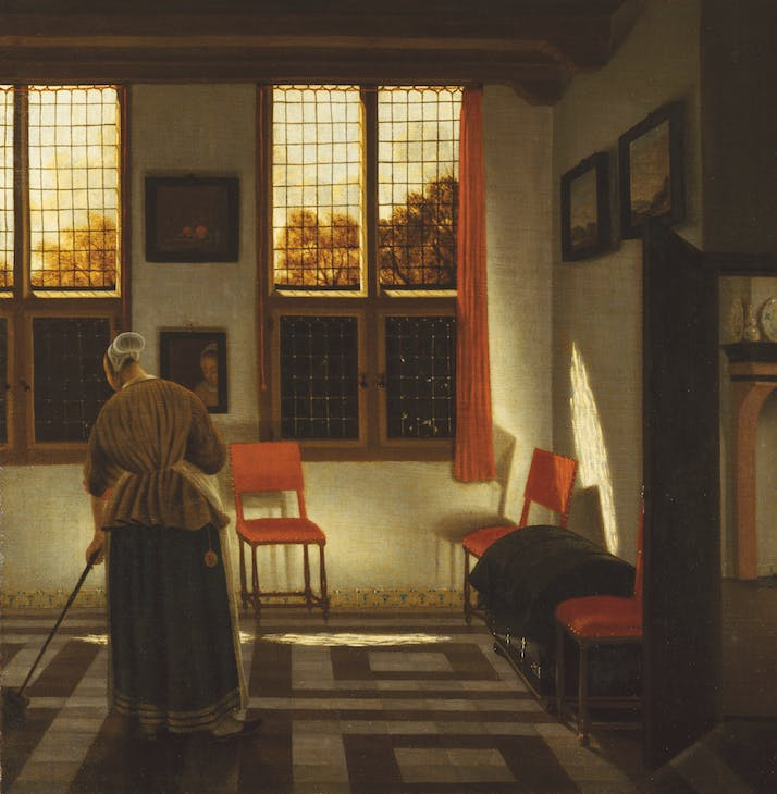 Room in a Dutch House (c. 1665–75), Pieter Janssens Elinga.