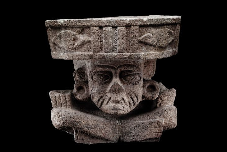 Old Fire God, Teotihuacan, Mexico