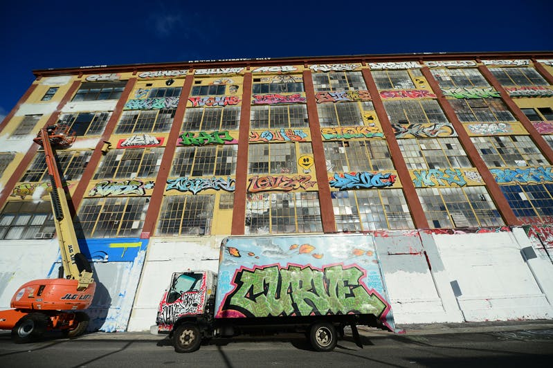 5Pointz on 19 November 2013.