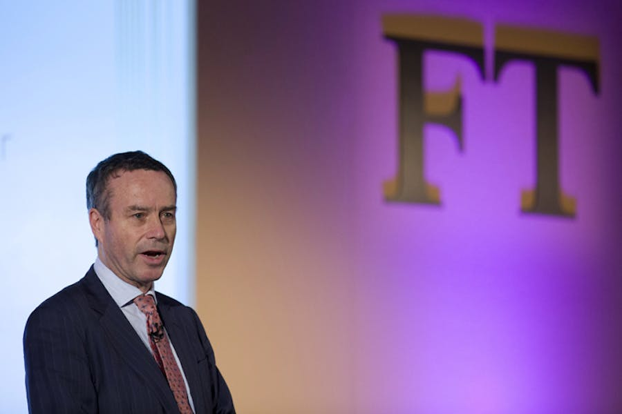 Editor of the Financial Times Lionel Barber, tipped to be next chairman of the Tate