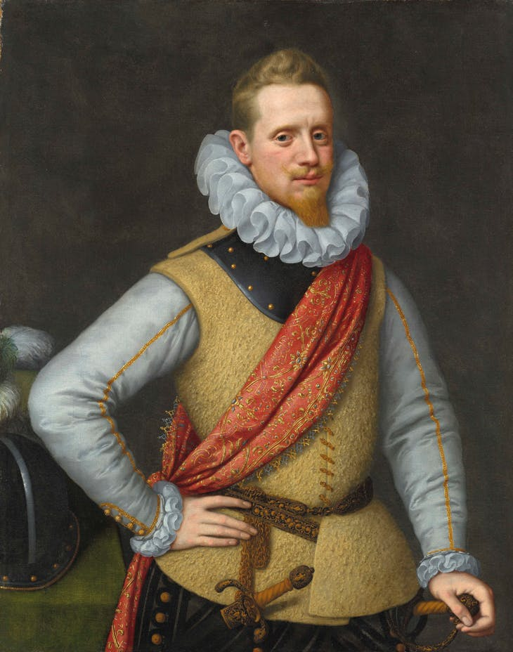 An unknown Danish Nobleman (c. 1610–14), Pieter Isaacz. Weiss Gallery, £275,000
