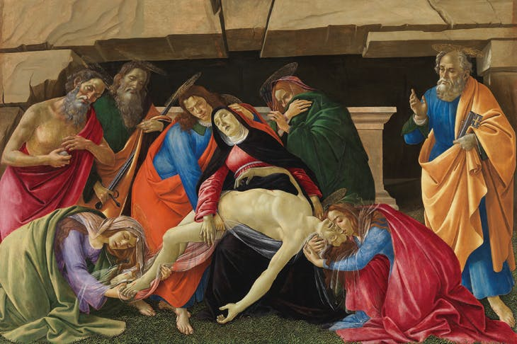 Lamentation over the Dead Christ (c. 1490/95), Sandro Botticelli.