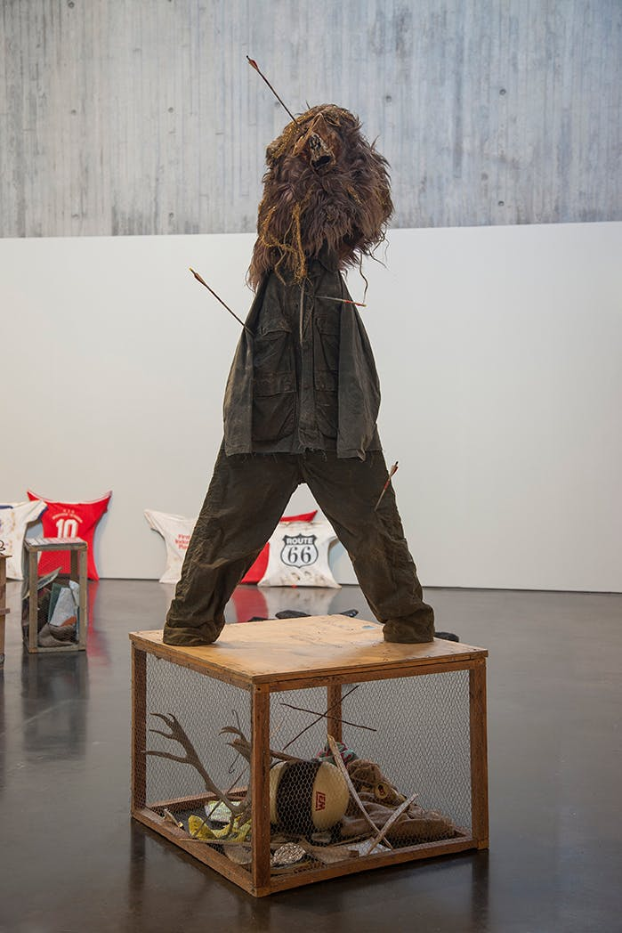 'Mike Nelson: Lionheart', installation view, The New Art Gallery Walsall, 2018.