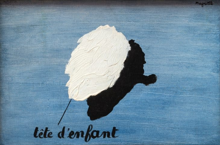 Le parfum de l'abîme, René Magritte, Private Collection. © ADAGP, Paris and DACS, London 2018