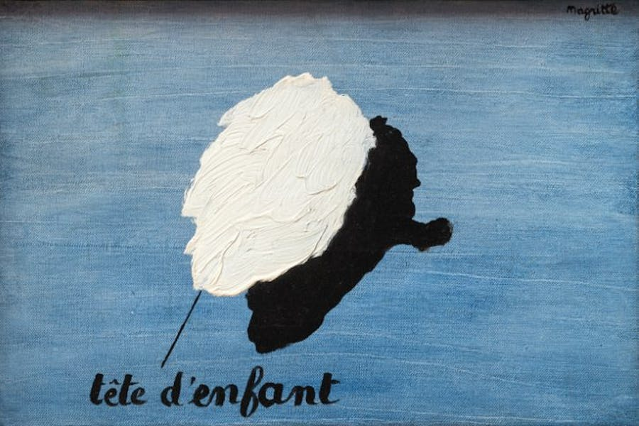 Le parfum de l'abîme, René Magritte, Private Collection. © ADAGP, Paris and DACS, London 2018