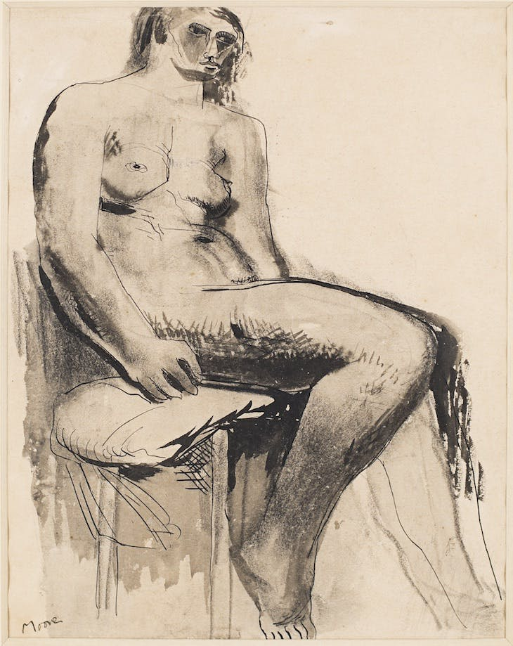 Seated Nude, Henry Moore