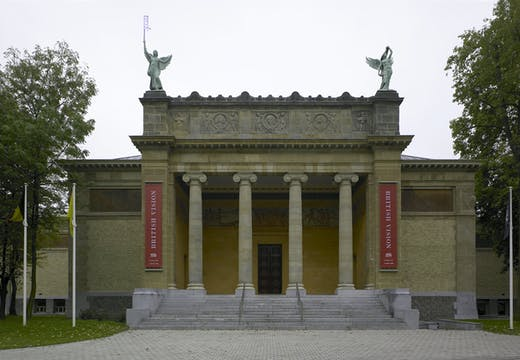 The Museum of Fine Arts in Ghent, Belgium.