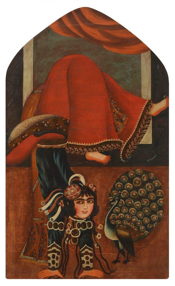 Tumbler Girl, Iran