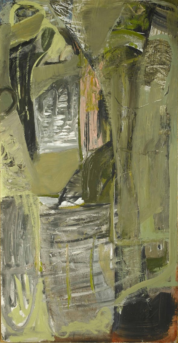 Moor Cliff, Kynance (1954), Peter Lanyon. Arts Council Collection, Southbank Centre, London.
