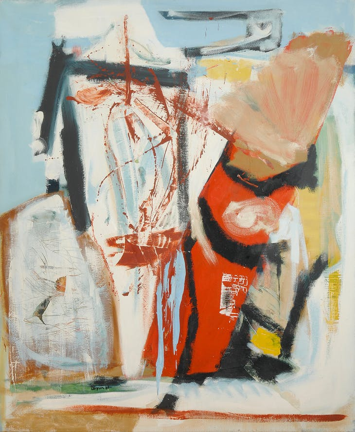 Saracinesco (1961), Peter Lanyon.