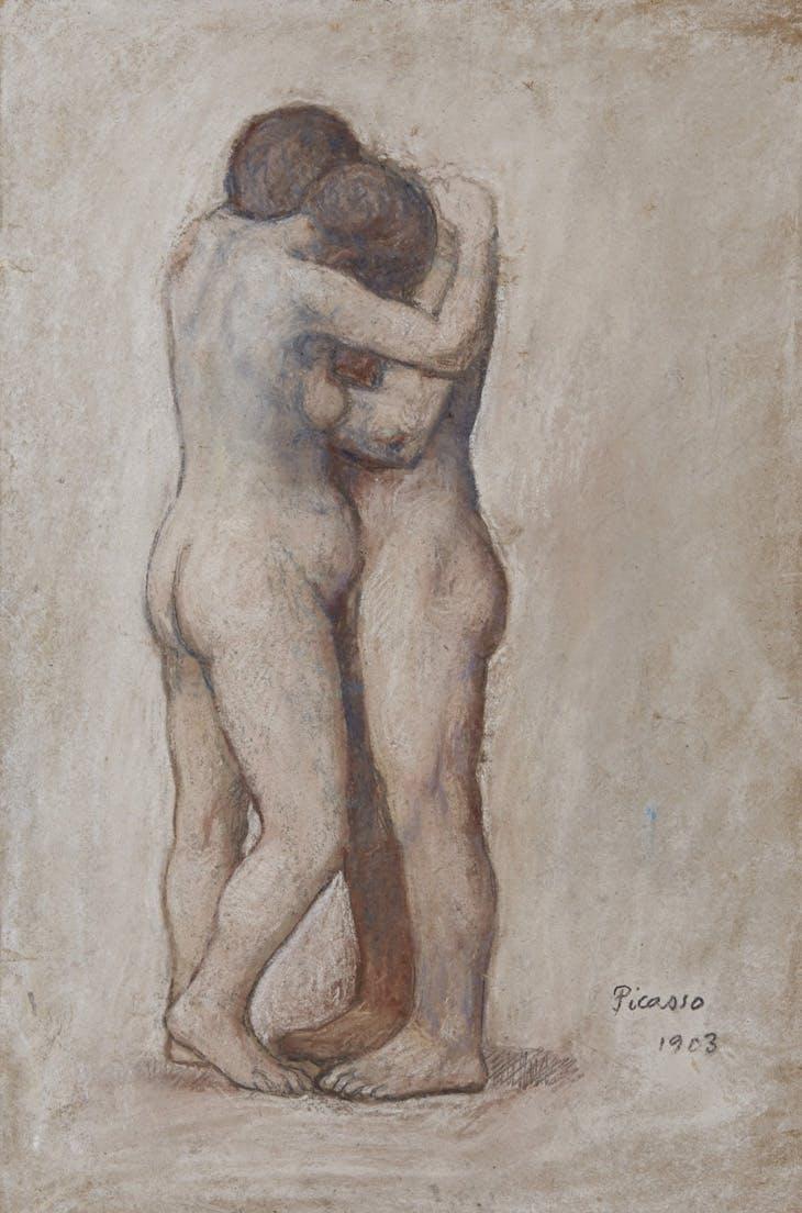 L'Étreinte (1903), Pablo Picasso