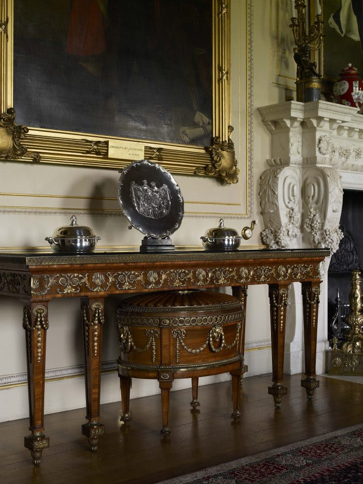 State Dining Room furniture, Thomas Chippendale