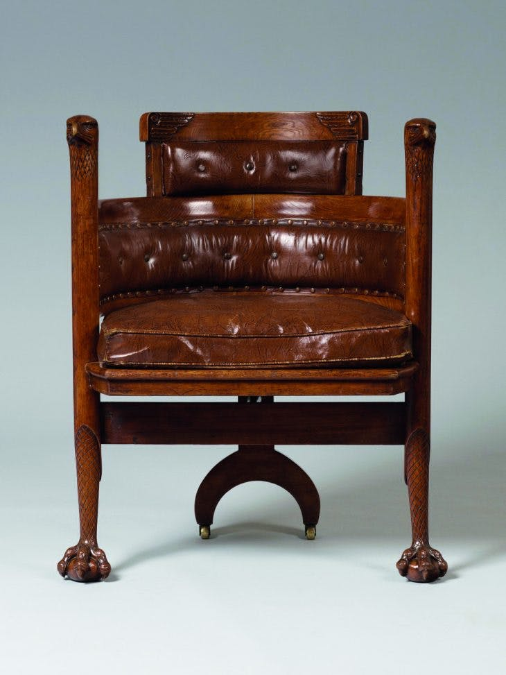 Eagle Chair, Edward William Godwin