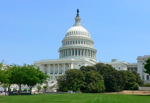 The United States Capitol, Washington, D.C., photo: Wikicommons