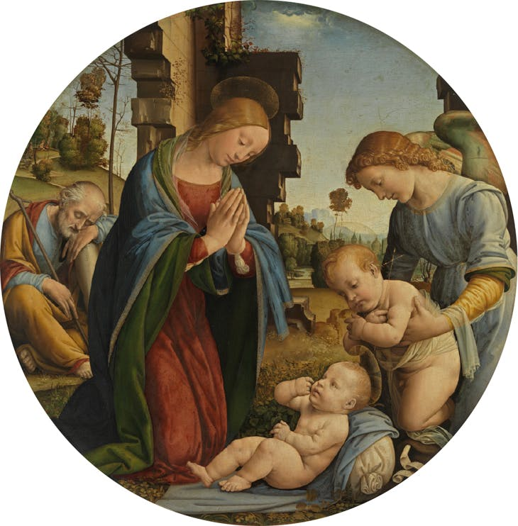 Adoration of the Child (c. 1495), Fra Bartolommeo.