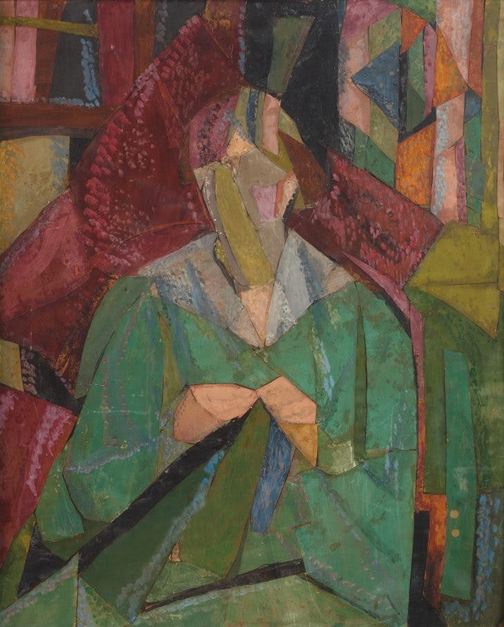 Portrait of Molly MacCarthy (1914–15), Vanessa Bell.