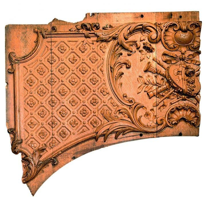 Fragment of a panel from Titanic