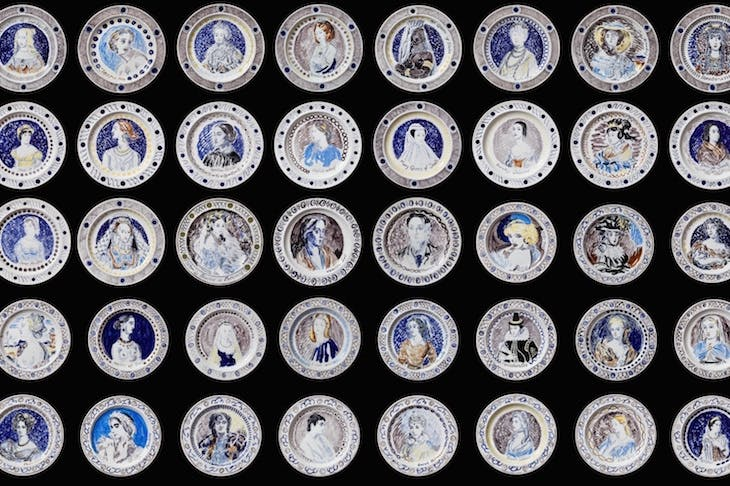The Famous Women Dinner Service (set of 50) (c. 1932–34), Vanessa Bell and Duncan Grant.