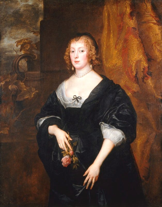 Dorothy, Lady Dacre (c. 1633), Anthony van Dyck. Denver Art Museum