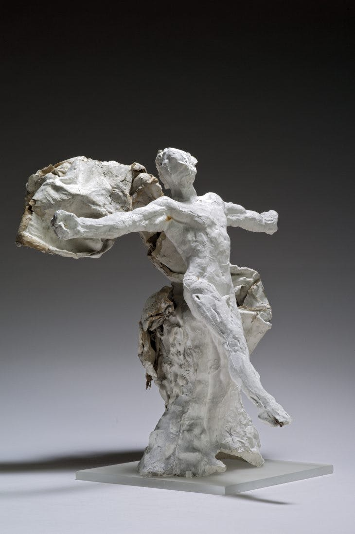 Mercury with Drapery, Auguste Rodin